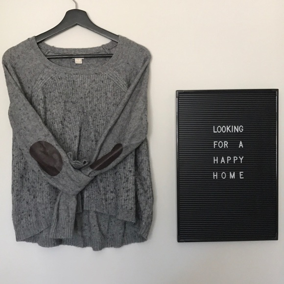 slouchy lounge JCrew sweater