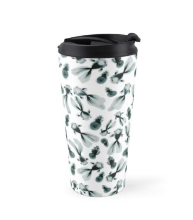 inky fish travel mug
