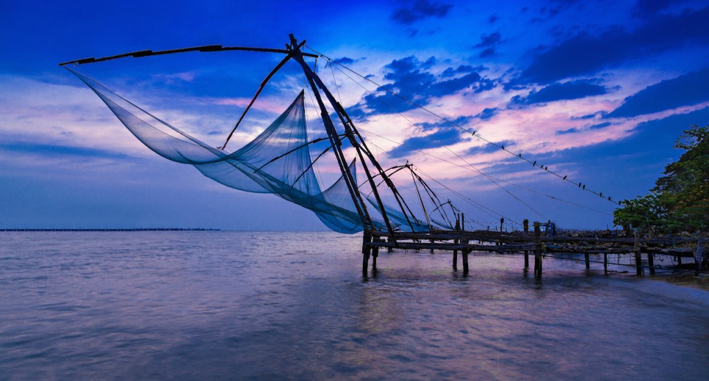 March 15 – 18 Cochin / Brunton Boat Yard - Cochin, the capital of Kerala, has one of the best natural harbors in the world. From time immemorial the Arabs, the Dutch, the Chinese, the English and the voyagers from Portugal have followed then sea – routes to Cochin and left their imprint on the town.
