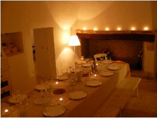 italy dining room