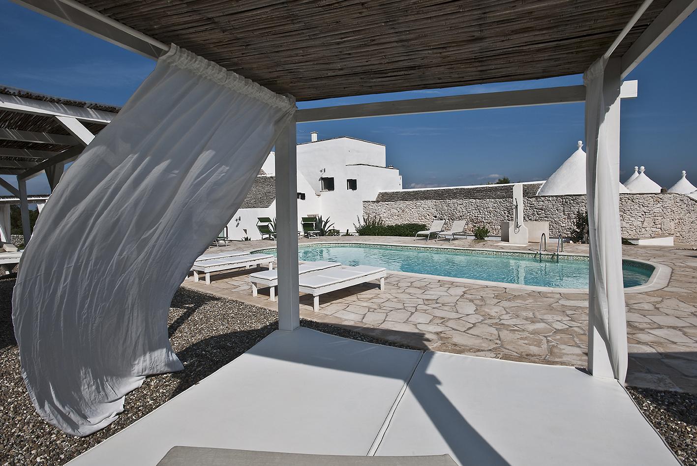 Swimming pool. Kava Yoga Retreat. Puglia, Italy 2019