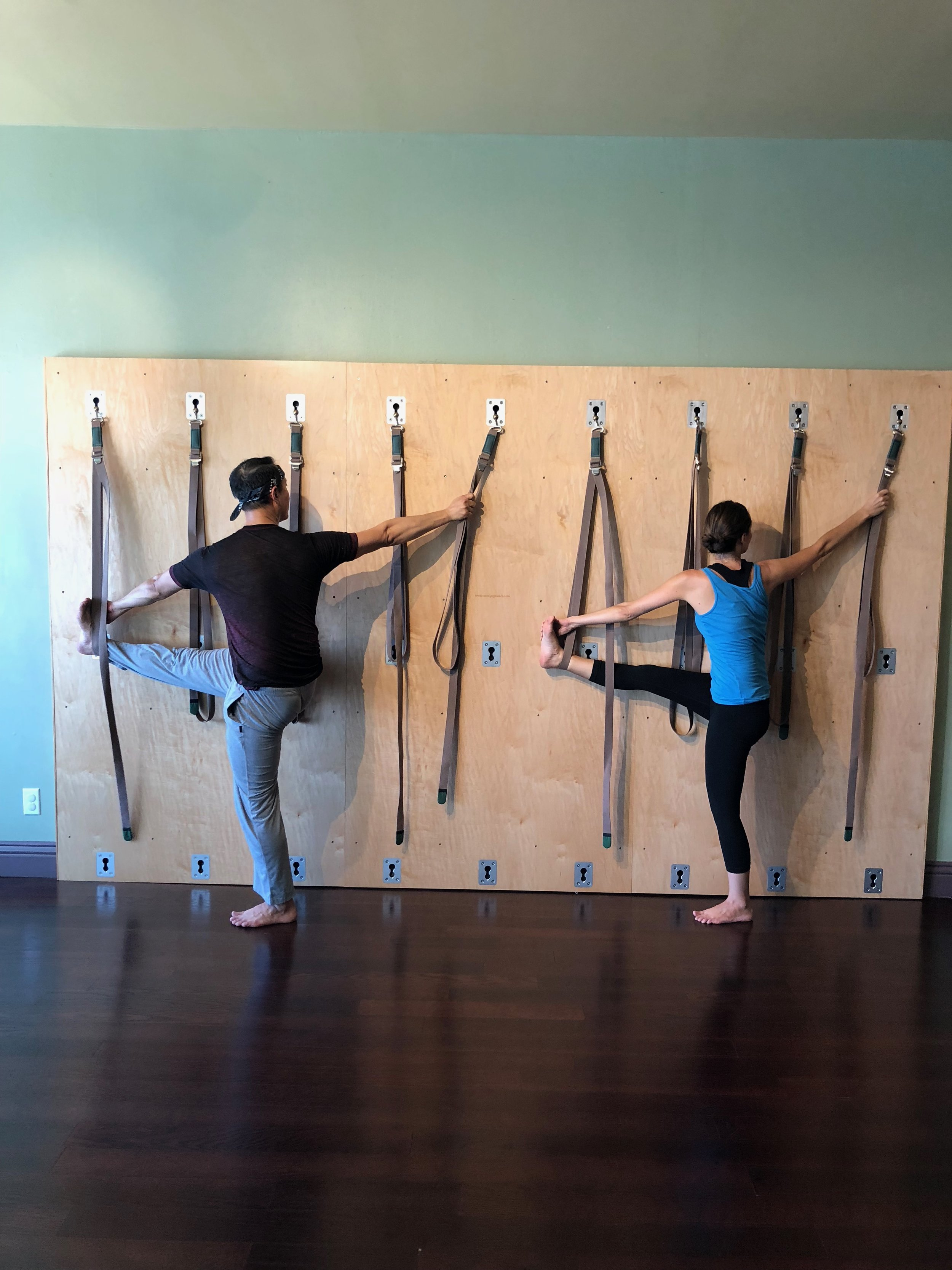 Yoga Strap Wall — KAVA Yoga