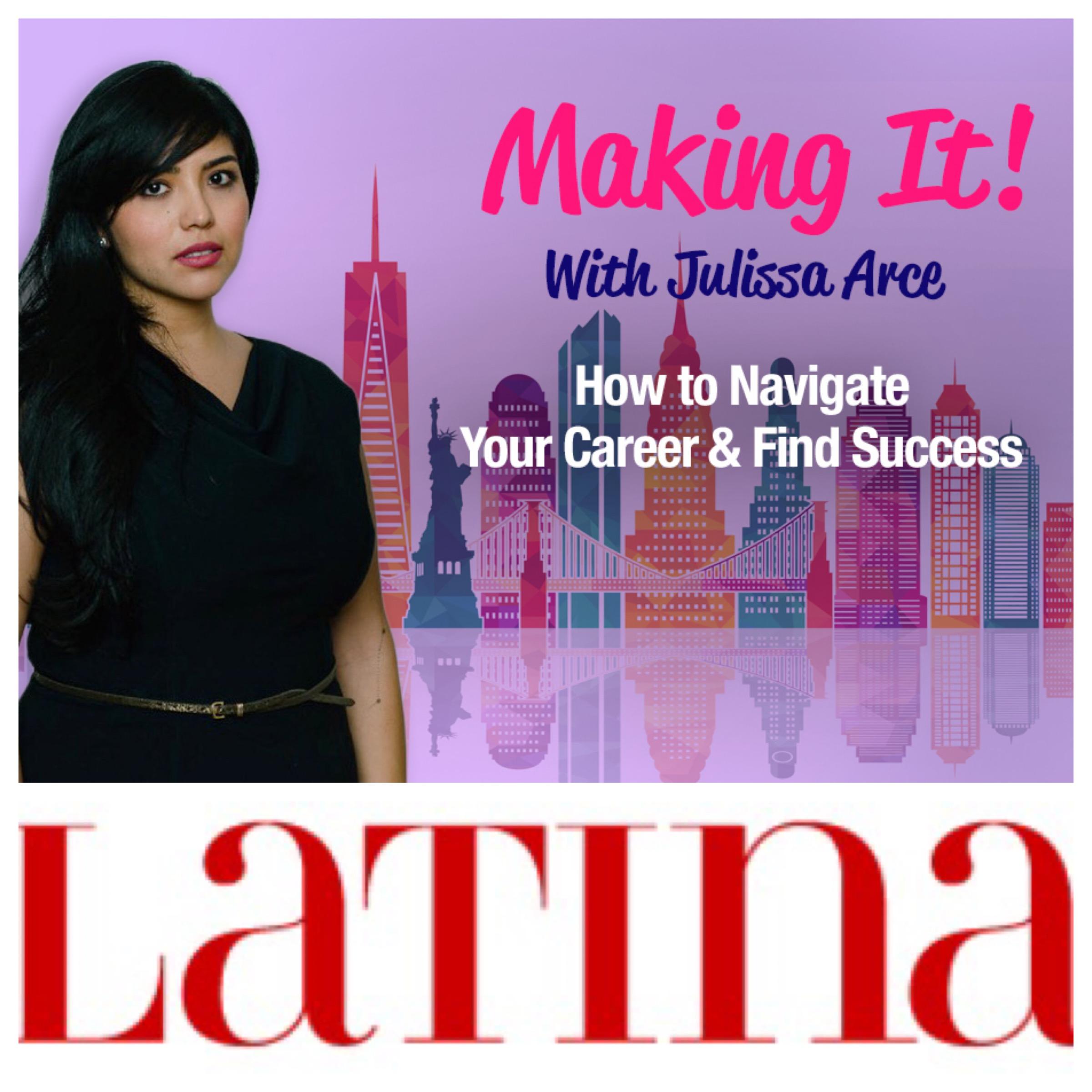 Career advice on Latina Magazine