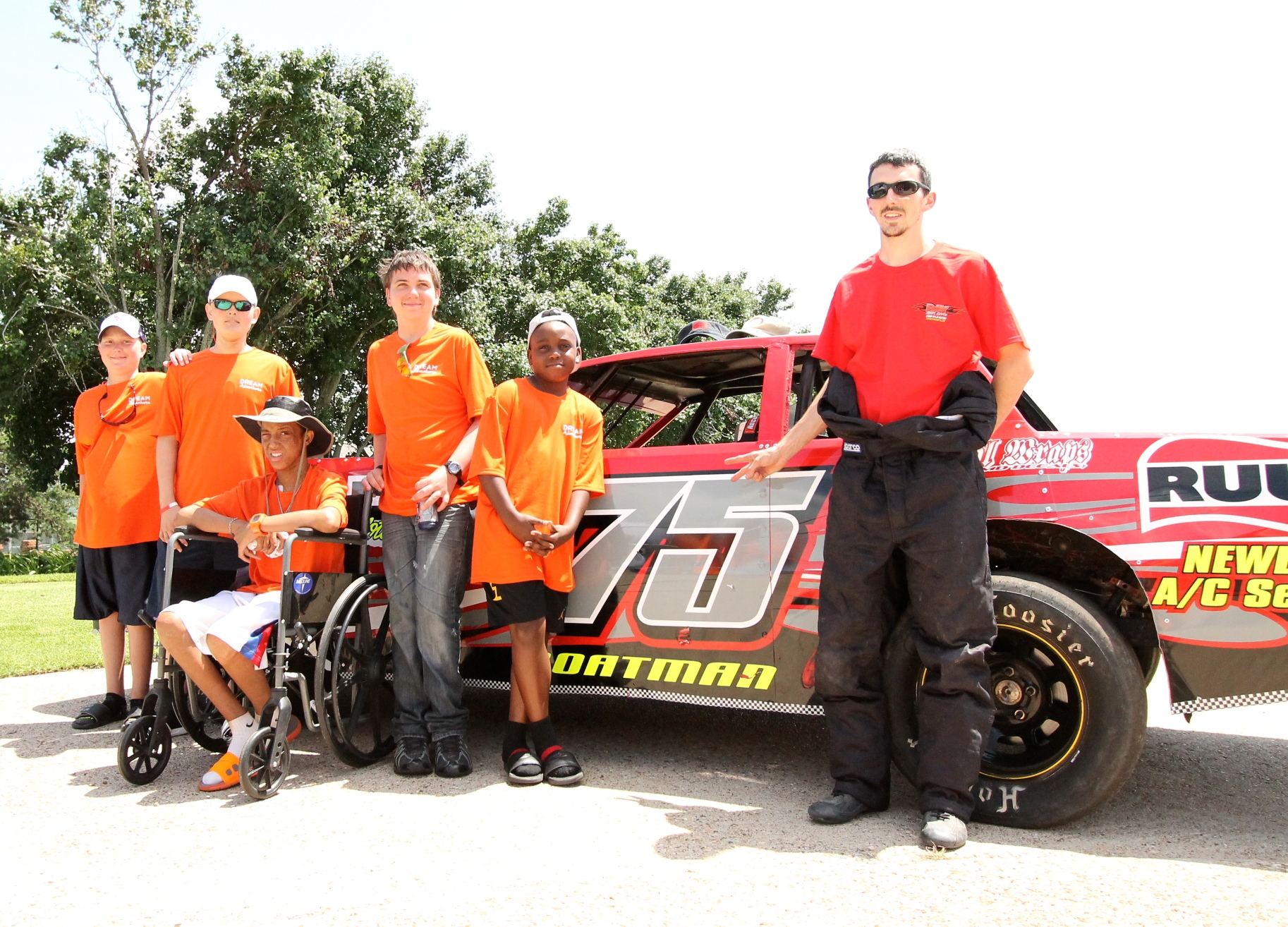 The Pit Crew with Wes, JJ, Dustyn, Joseph & Denver