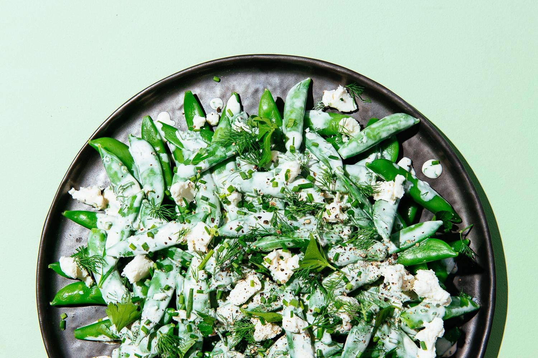 Chevre Ranch Salad | Lauren V. Allen | Food & Travel Photographer | Raleigh-Durham, N.C.