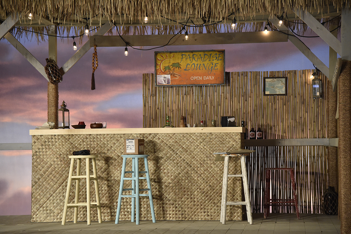 Bar de la pasarela de Tommy hilfiger