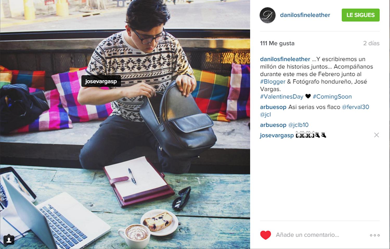 Campaña para Danilo's Fine Leather en el mes de Febrero'16