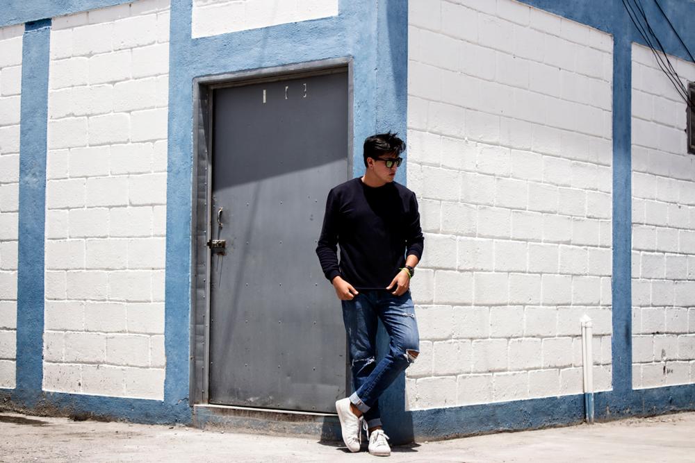 ripped jeans men jose vargas moda honduras blog fashion blogger street style looks outfit of the day tegucigalpa honduras pepe revolution nautica gafas de sol