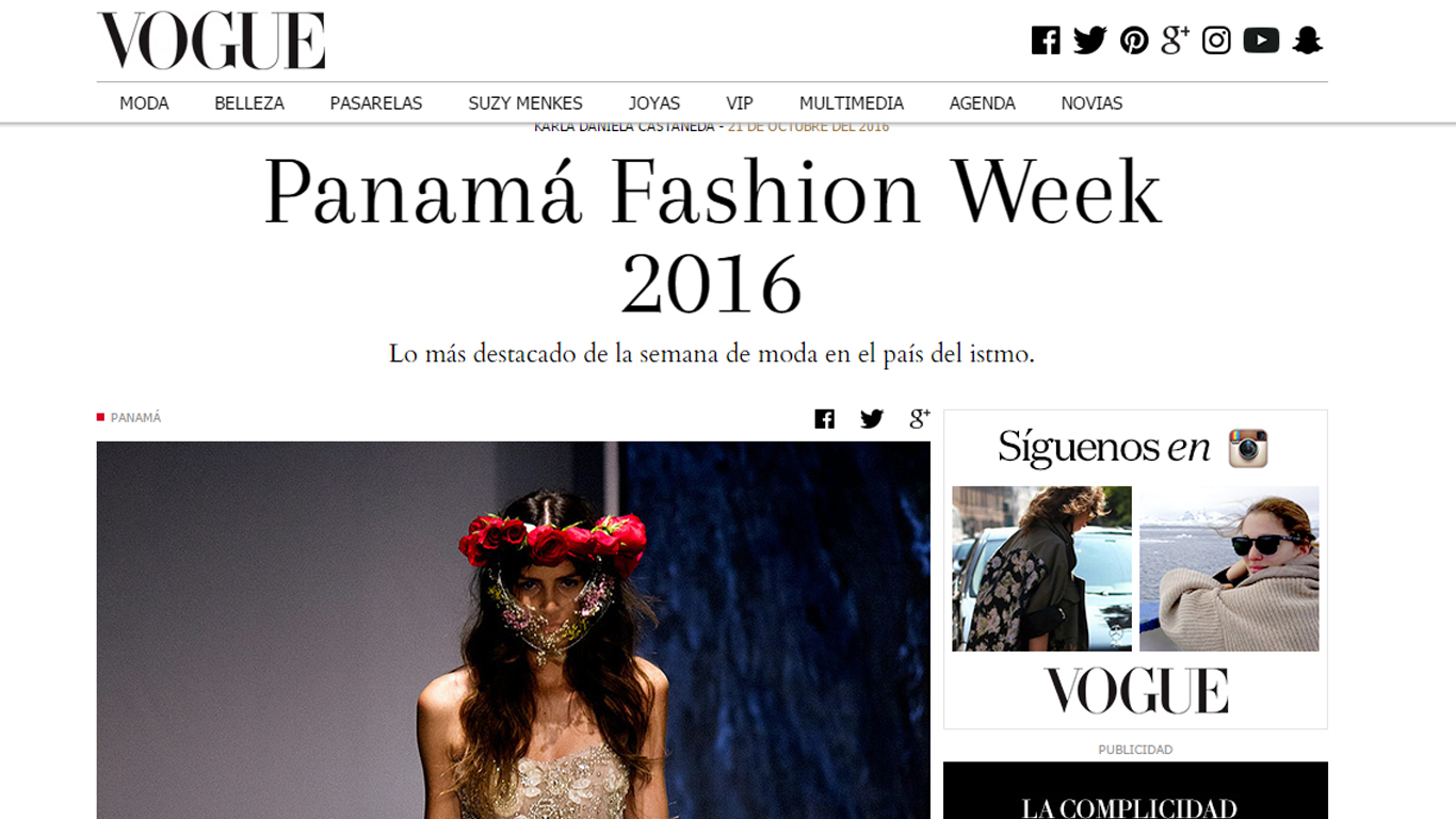 Fotografias para Vogue.mx