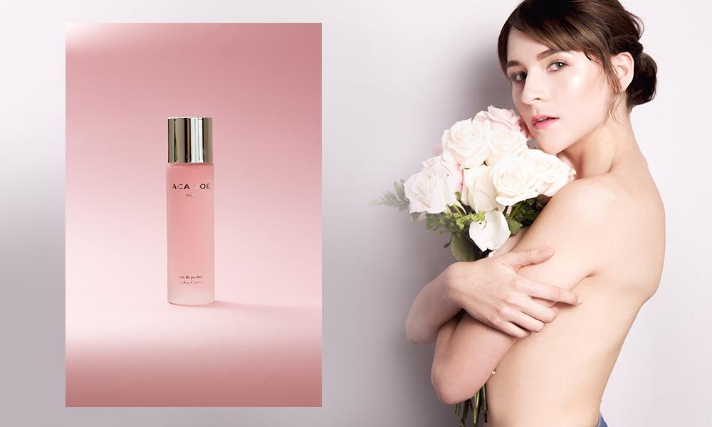 Campaña de perfume para Aca Joe