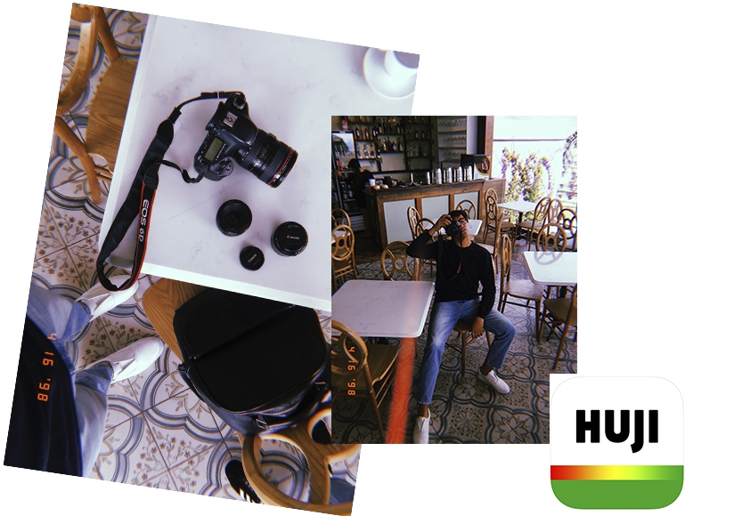 HUJI - Esta es una app que saca fotos como si fueron tomadas con una cámara polaroid. Perfecta para fotos backstage y after parties.