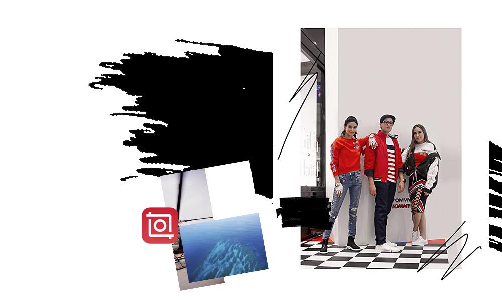 INSHOT - Es un editor de video muy bueno. Yo la uso más para crear hacer collages y montar una imagen sobre otra.