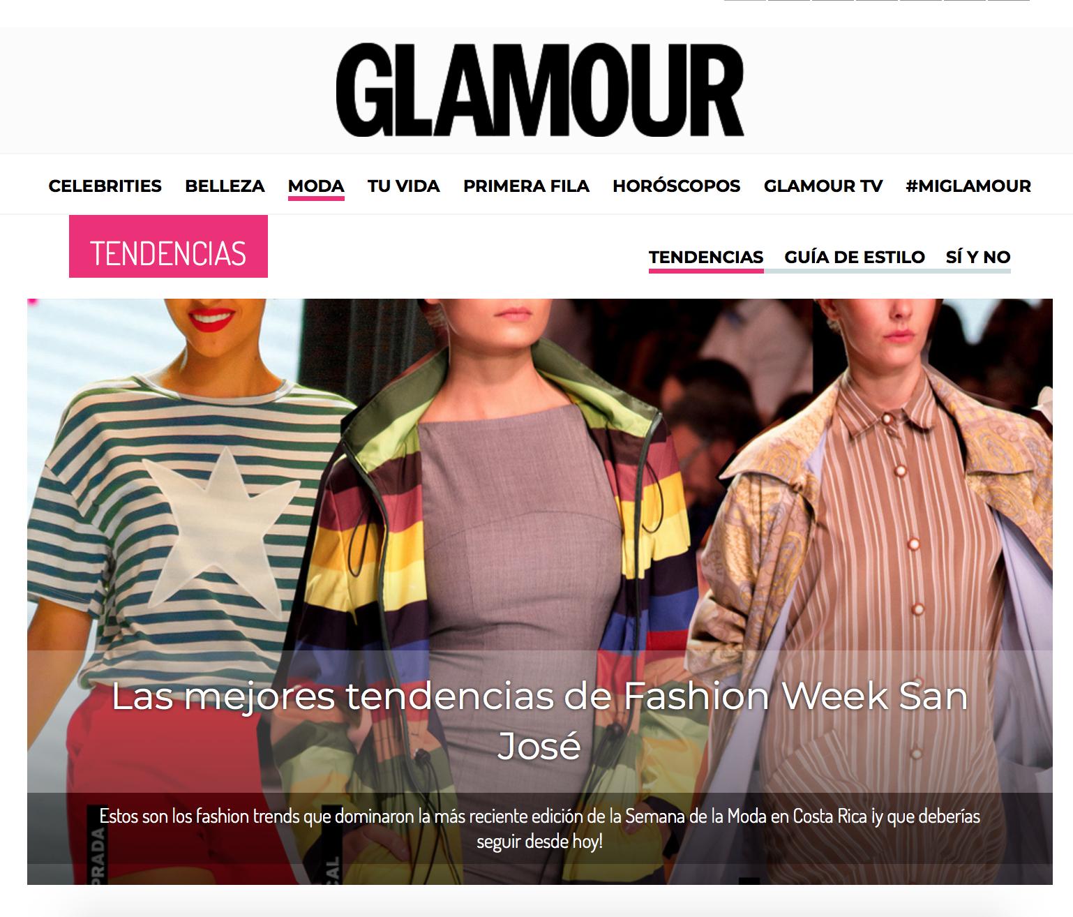 Cobertura para Glamour.Mx