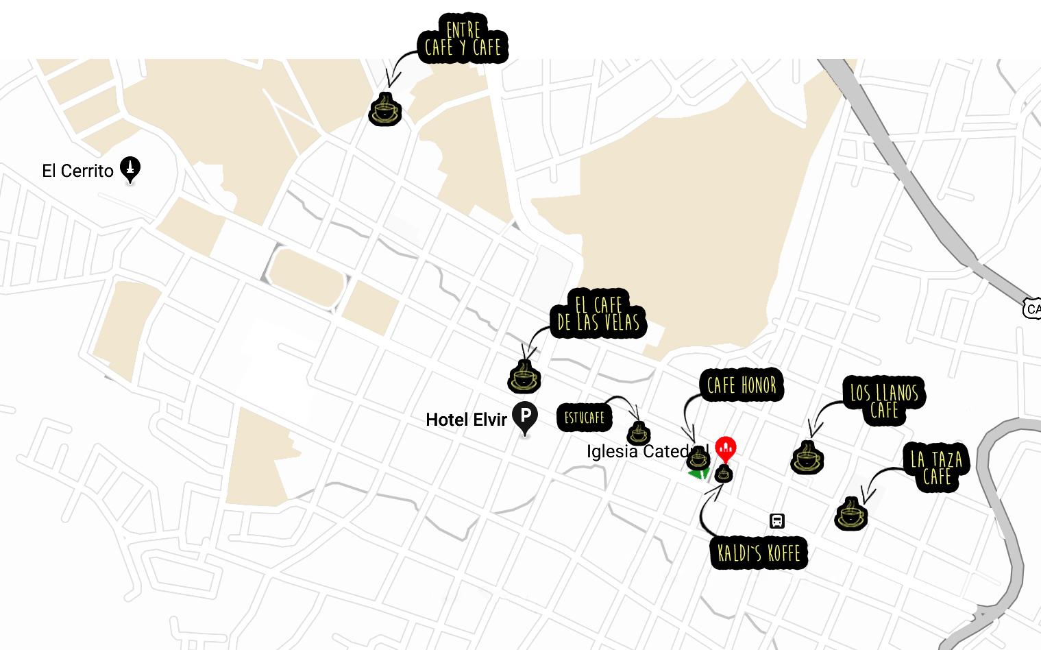 mapa de cafes de Santa Rosa de copan honduras jose vargas moda fashion lifestyle