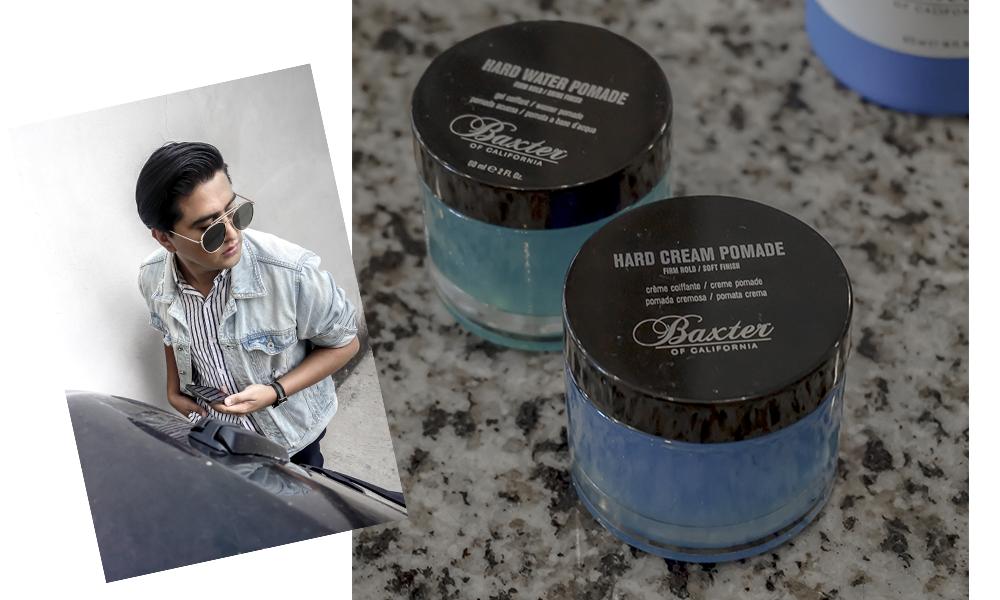 Pomada Baxter Hard Cream – Firm hold - Esta me proporciona una definición texturizada en el cabello, con una fijación firme y un acabado de poco brillo. Es perfecta para los eventos formales porque siempre me mantiene el peinado perfecto.