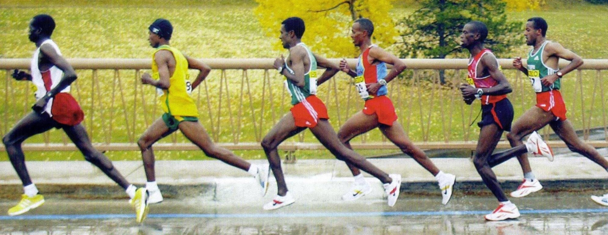 Tempo running is a staple for world beating Kenyans