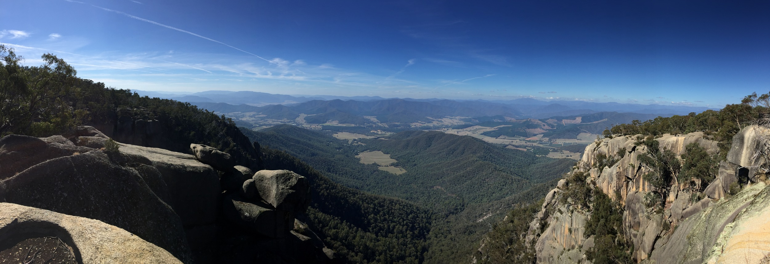 view from Mt. Buffalo