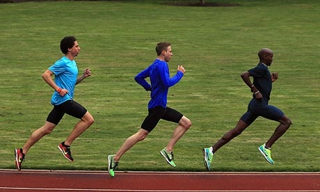 10,000m world & Olympic champion Mo Farah demonstrating sublime form.