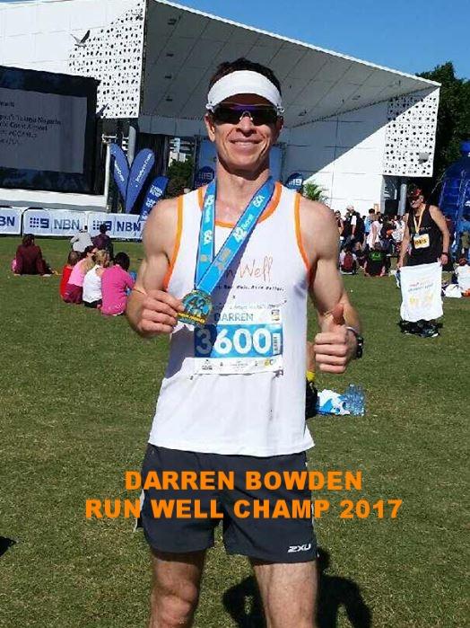 2 x PB's in 2017 @ GC, MM.     new  Run Well Marathon record ; 2:55:13