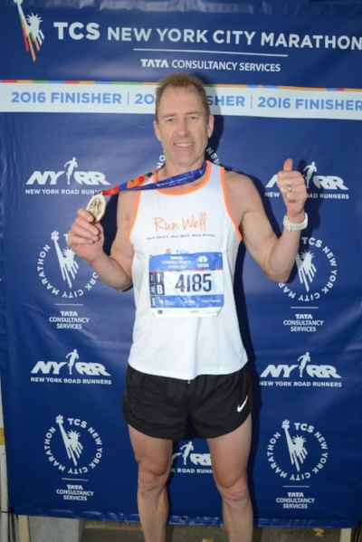 Rohan was lucky enough to qualify for the New York marathon in 2016. A huge highlight for the Run Well crew.