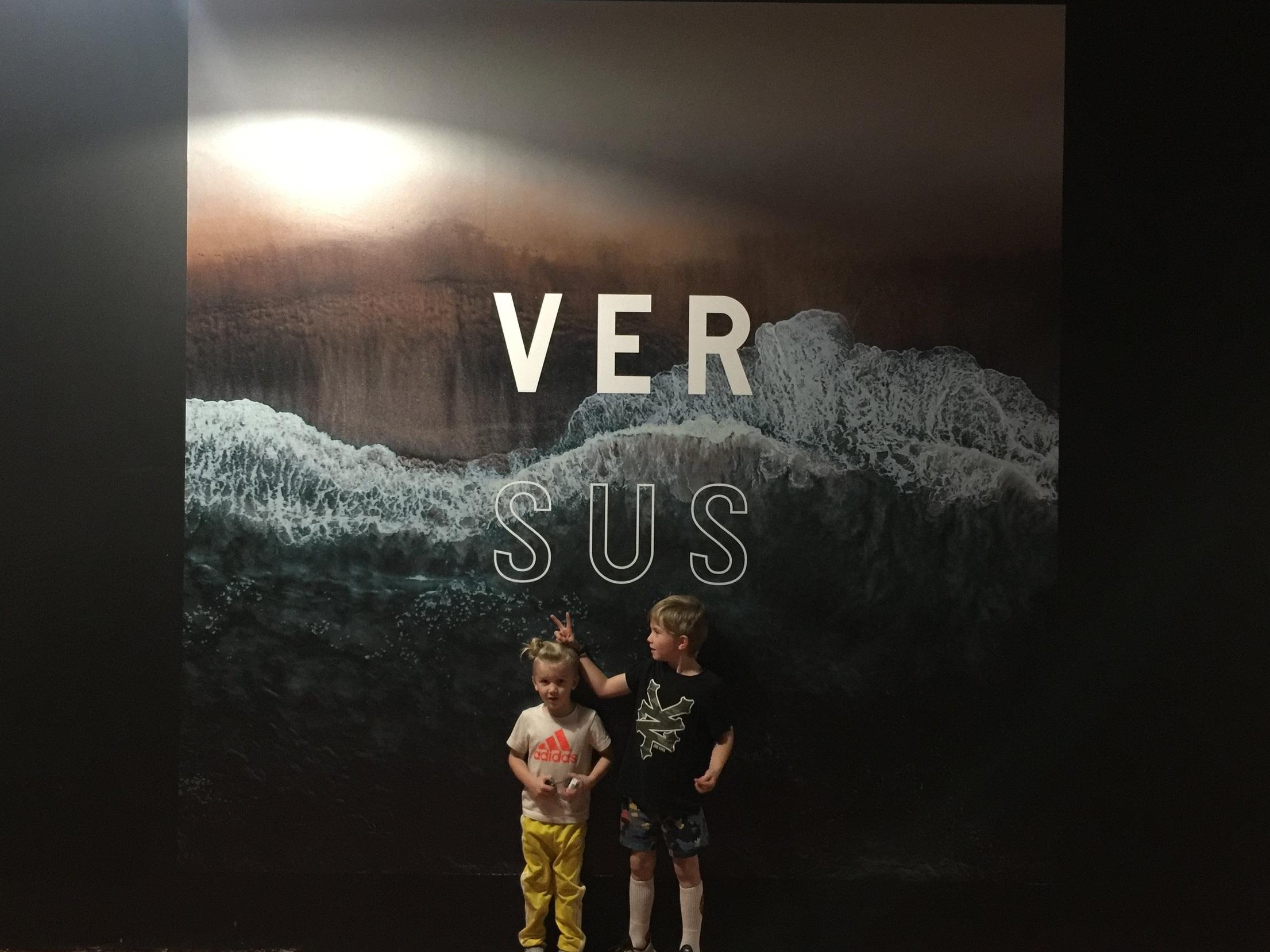 VERSUS - St. Kilda & the Armstrong boys!