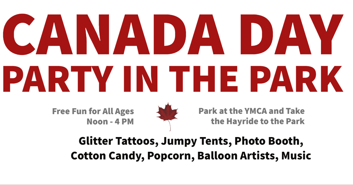 Canada Day  is put on with the  Castle Downs Recreation Society  ( Baturyn ,  Carlisle ,  Caernarvon ,  Dunluce ,  Lorelei-Beaumaris  and  Cumberland Oxford  Community Leagues)  THIS EVENT MAY BE CANCELLED DUE TO RAIN