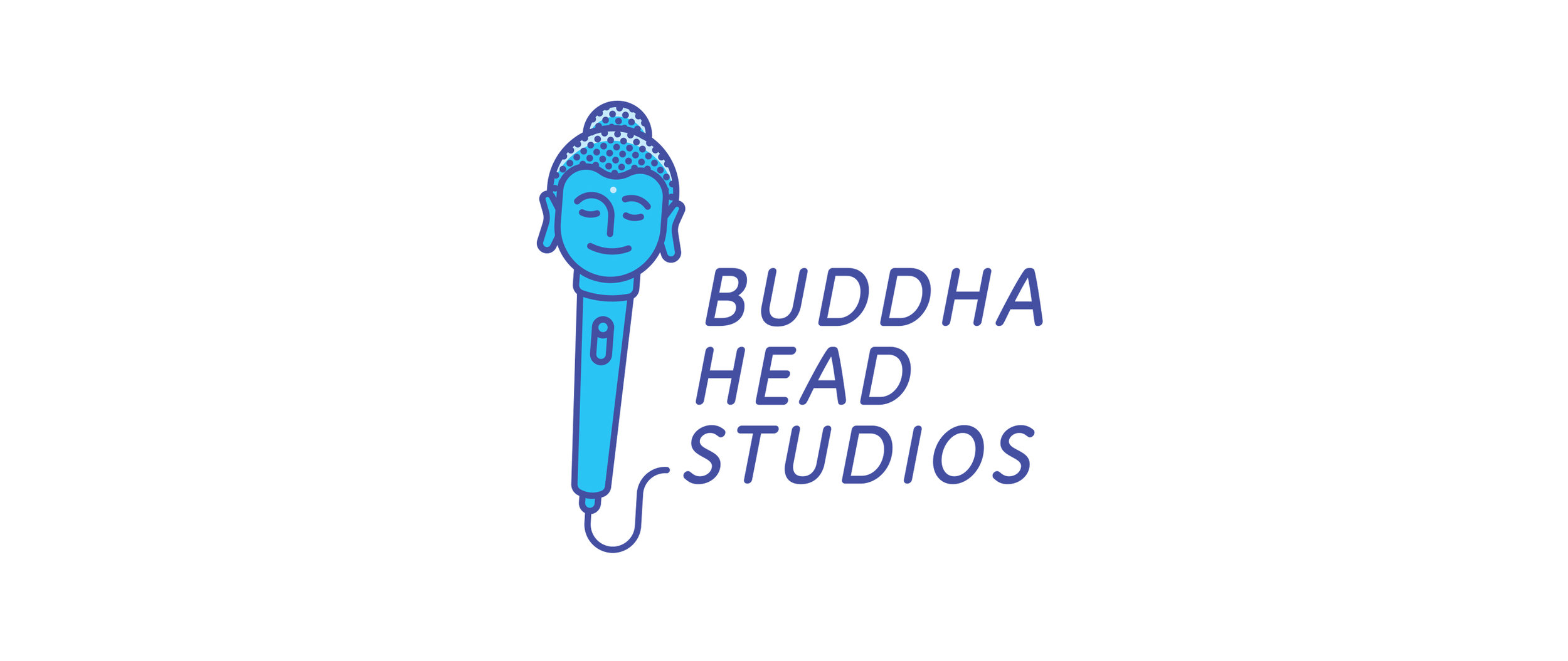 A Denver-based recording studio that combines the Buddha with musical imagery