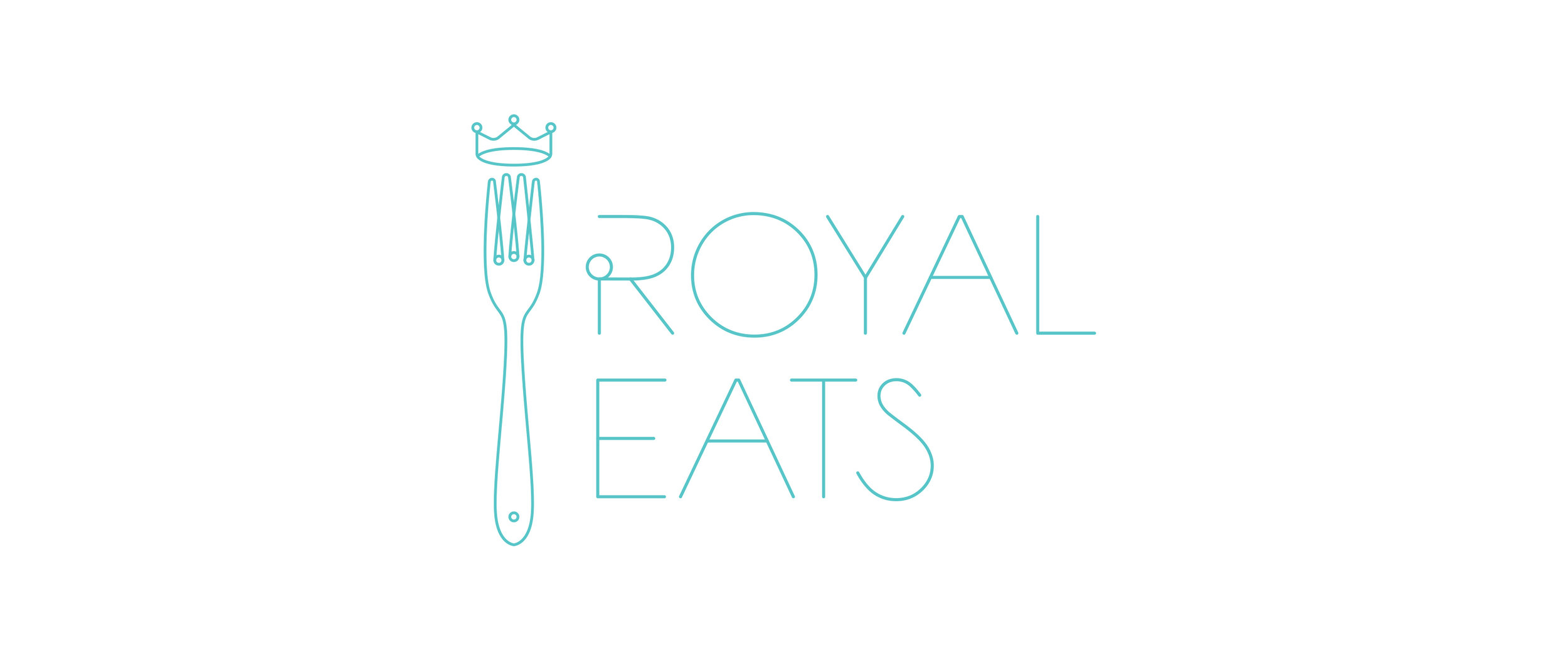 A concept logo for an app that allows users to rank specific food items at restaurants