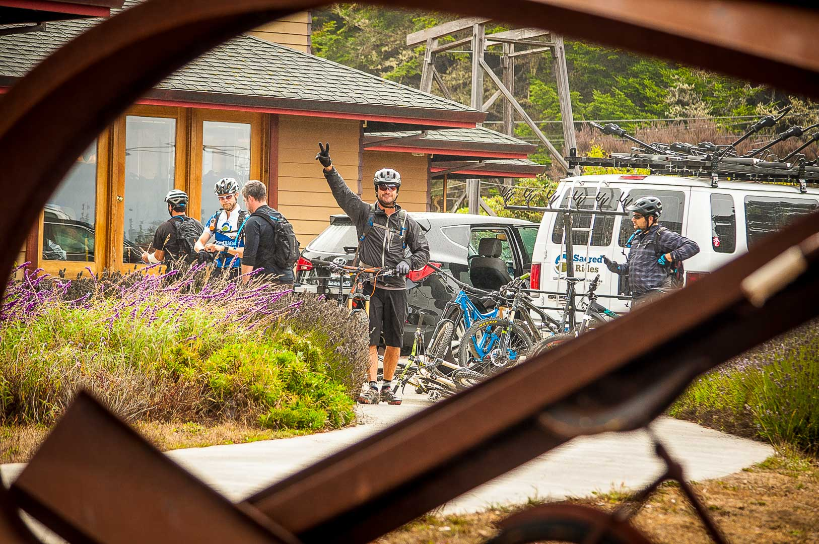 Mountain Bike San Francisco guided mountain bike tours Peace Ryan