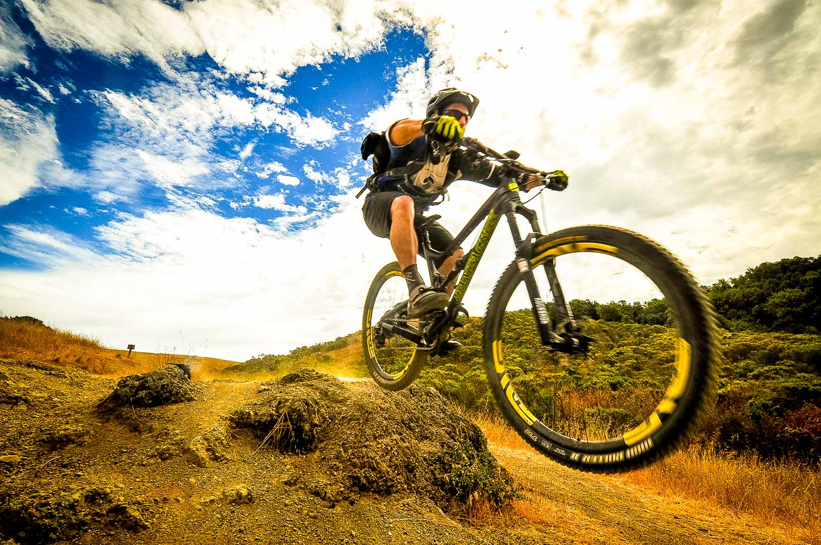 Mountain Biking Marin County best trails Mark Tamarancho