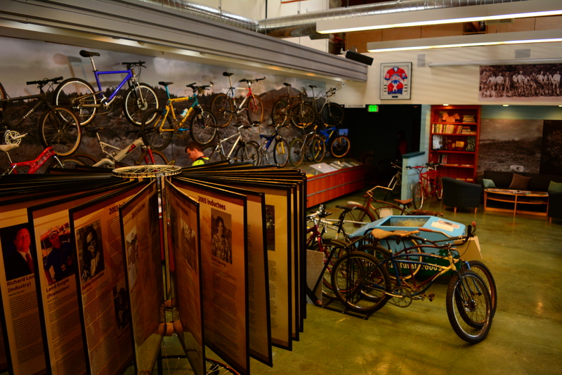 We'll get you in to the  Marin Museum of Bicycling and Mountain Bike Hall of Fame