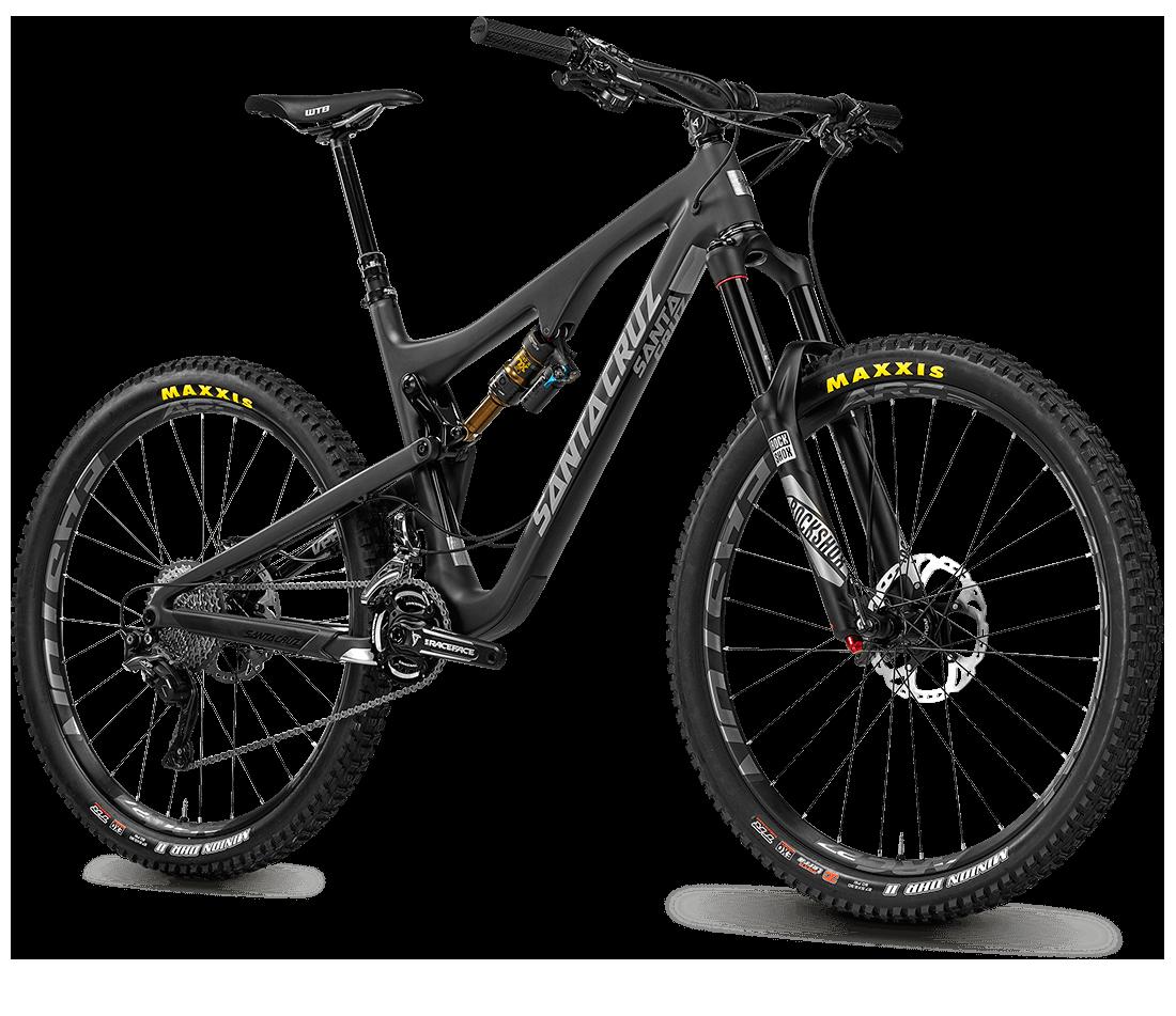 Santa Cruz Bronson Carbon Full Suspension Bike