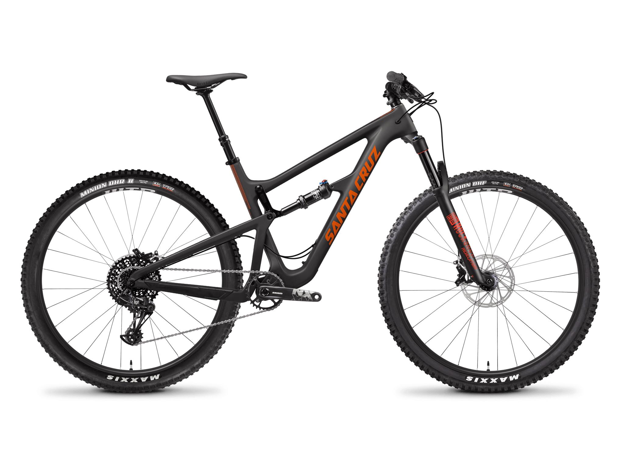 Santa Cruz Hightower Carbon R kit rental demo bike