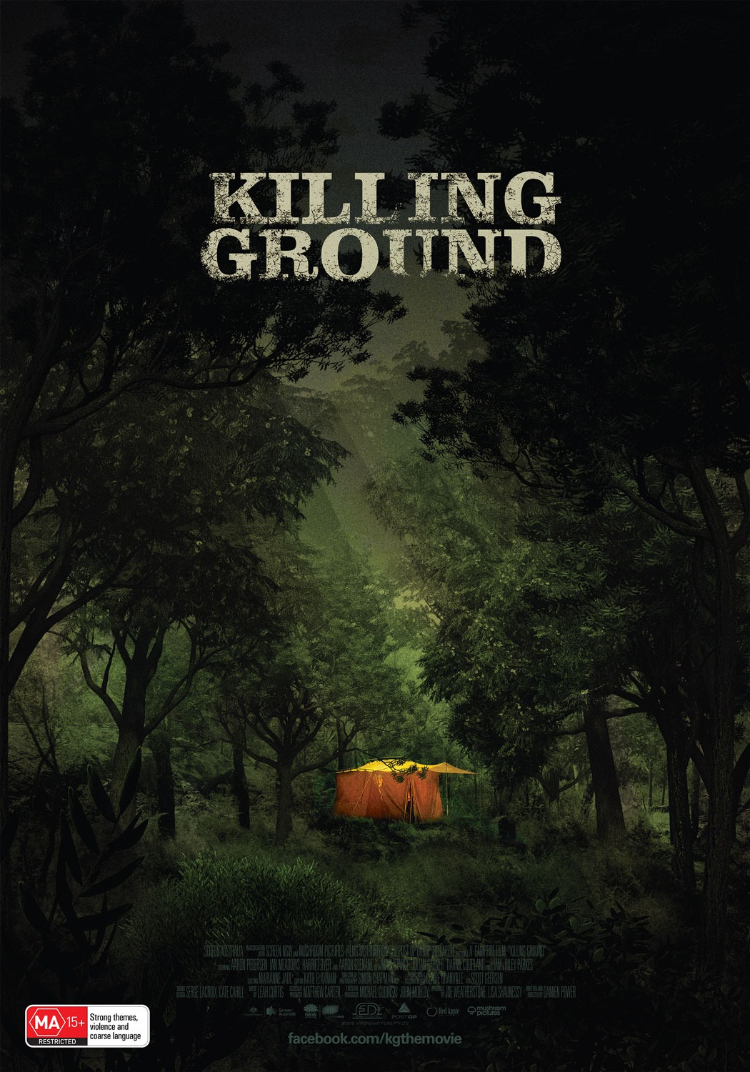 Killing Ground (Poster by Jeremy Saunders)