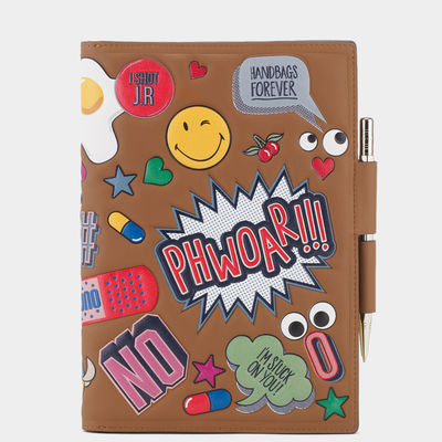 Journal-A5-Two-Way-All-Over-Wink-Stickers-in-Caramel-Silk-Calf-1.jpg