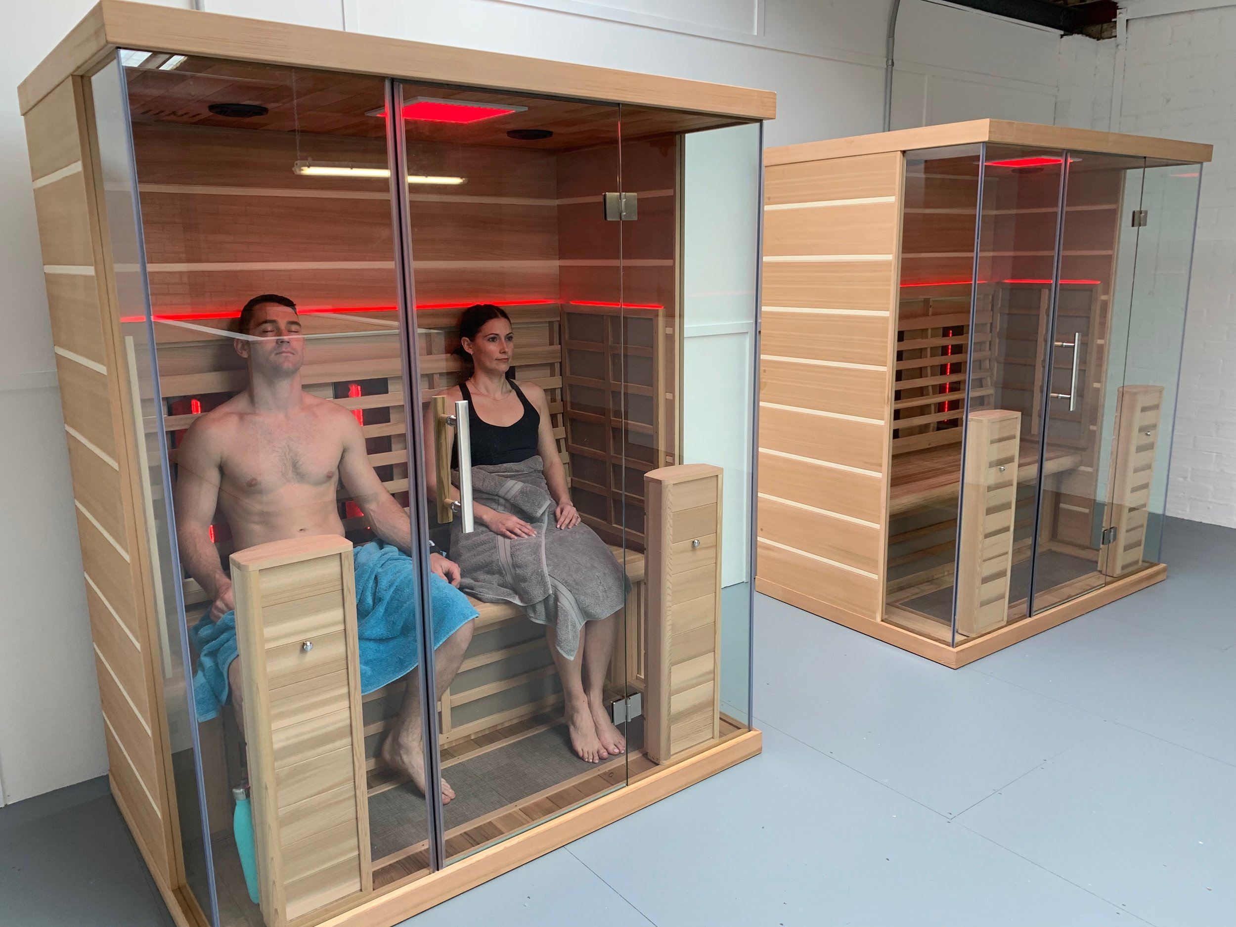 CLICK IMAGE TO SEE MORE ABOUT OUR INFARED SAUNAS -