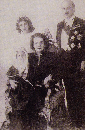 İkinci eşi Emir Zeyd ile...