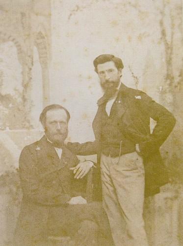 """Resim 3) Fabius Brest ve James Robertson, 1855, asitli kâğıda baskı. Bahattin Öztuncay, """"Dersaadet'in Fotoğrafçıları""""2003"""