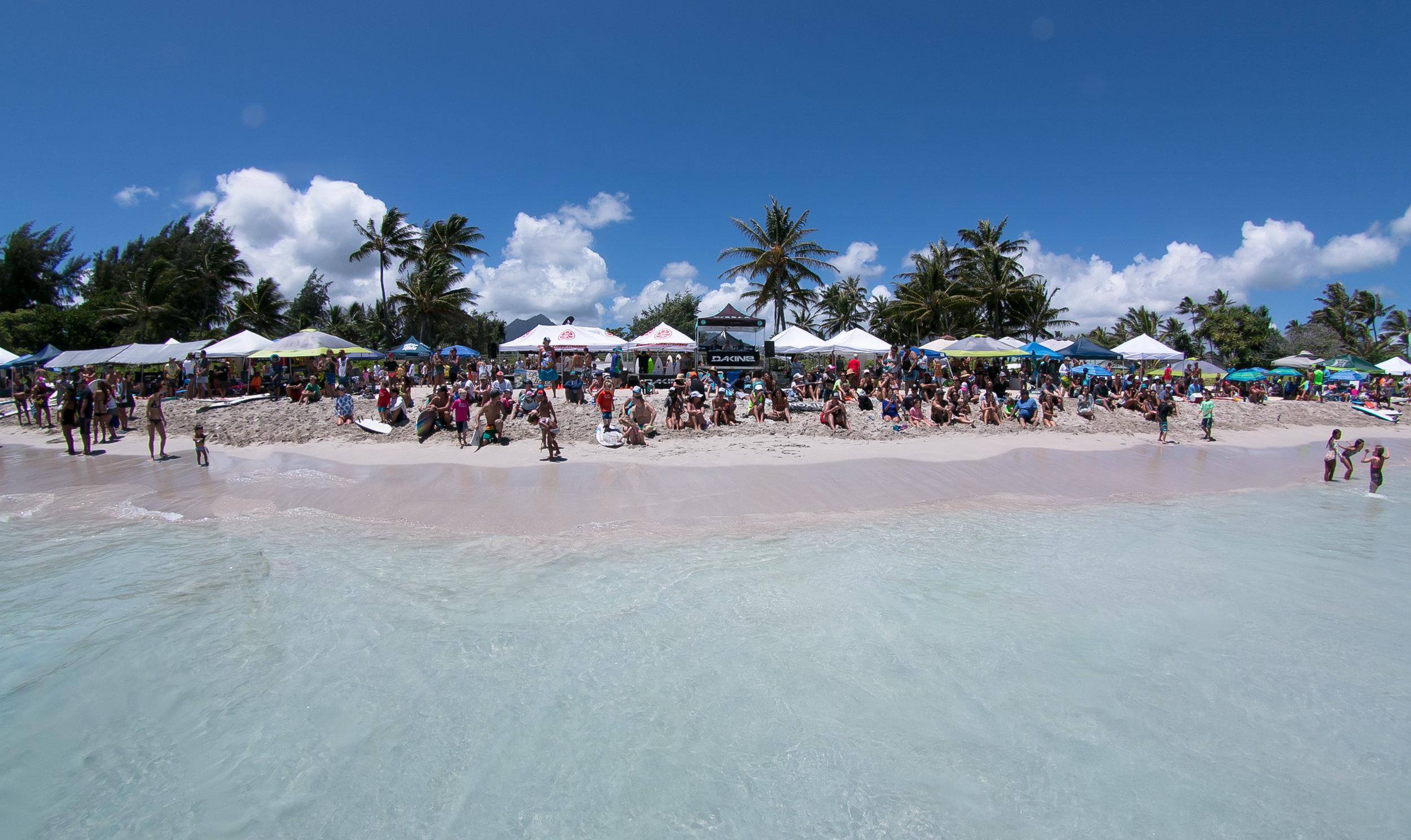 Kailua Shorebreak Classic at Kalama Beachpark, Kailua, Hawaii