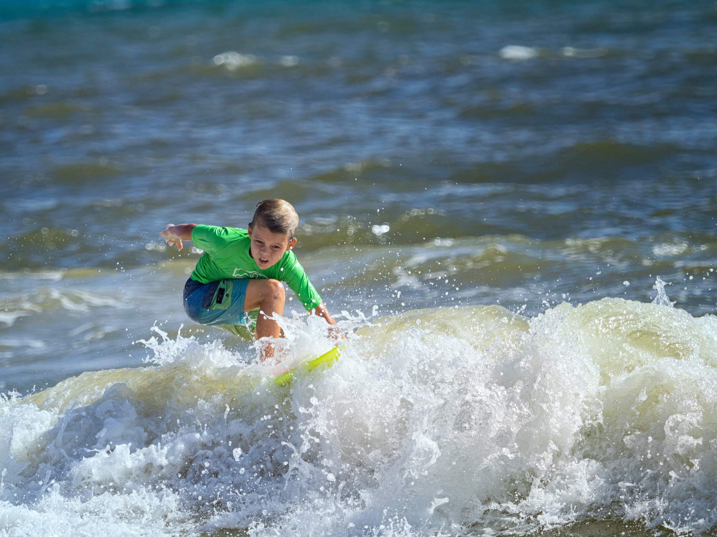 Kailua Shorebreak Classic - Keiki Ripping in the Waves