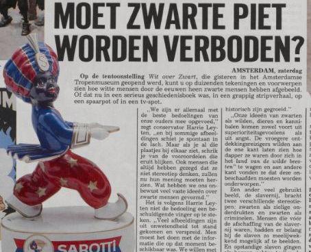 Het Citaat Zwarte Piet Telegraaf 1989
