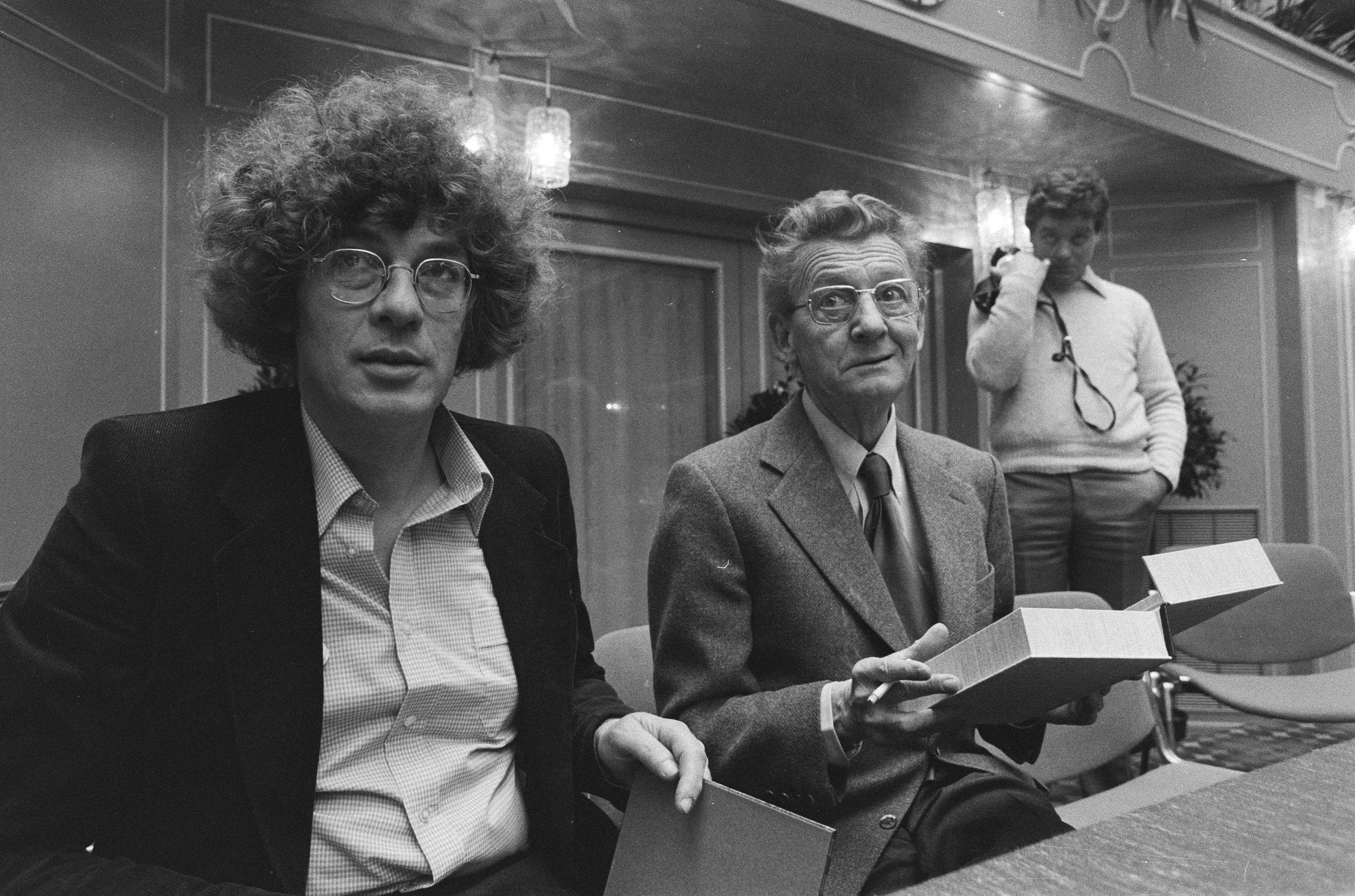 Peter  van Straaten, Simon Carmiggelt, Nationaal Archief