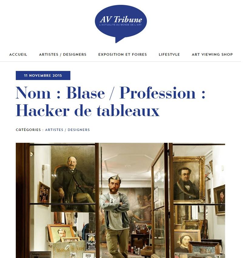article Blase AD Tribune 11.11.2015