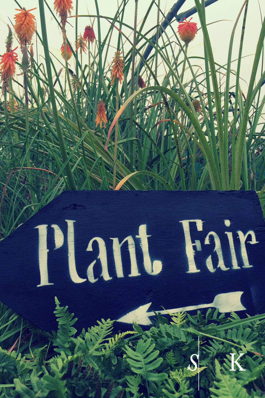 Tremenheere Plant Fair 2016 Sign 18th Sept 2016