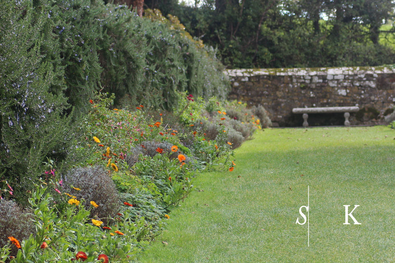 October Garden Cornwall Trerice Border