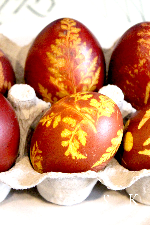 Cornwall Garden 2017 Easter Eggs