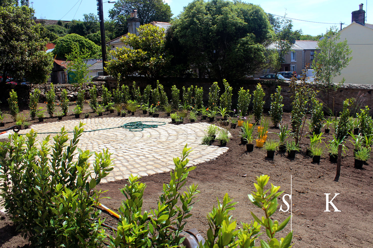 The Making of a Family Garden in Cornwall