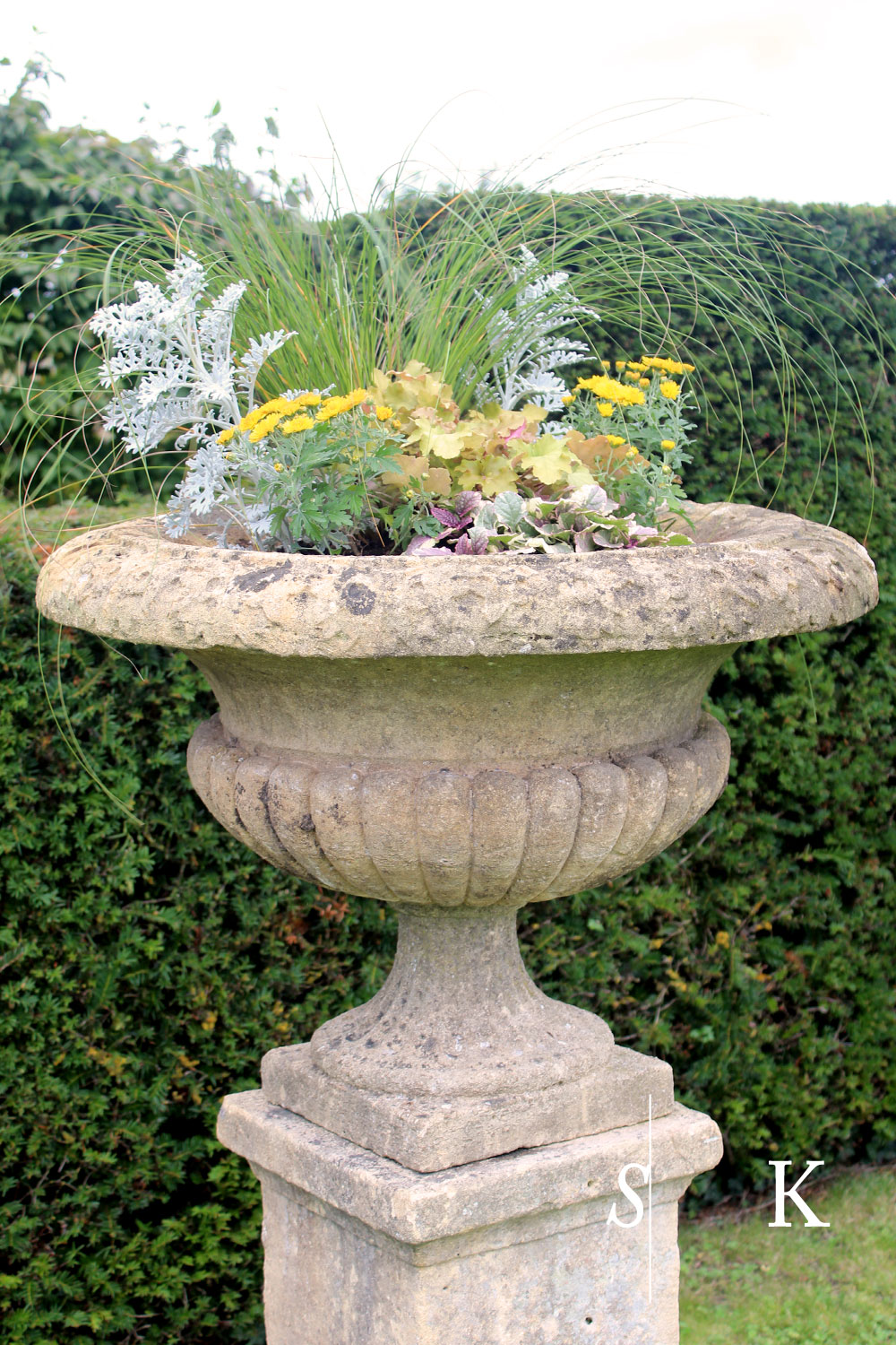 Garden Urns Selma Planting Cornwall Cotswolds