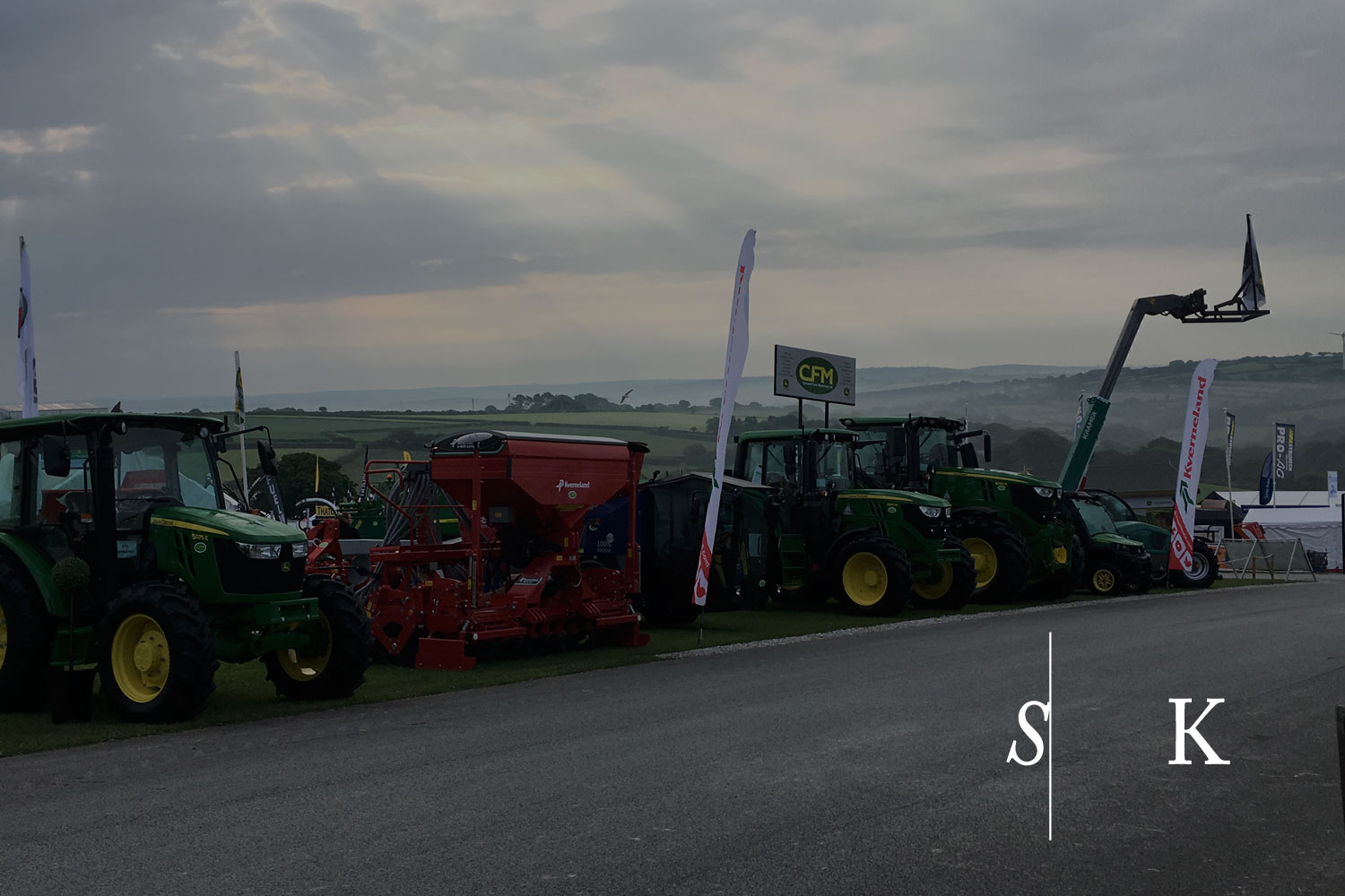 Royal Cornwall Show 2018 in the morning