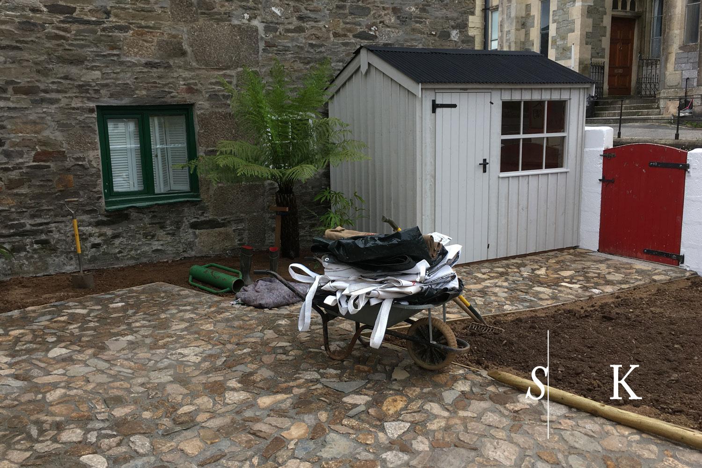 Vintage Flair Cornish Garden Retro